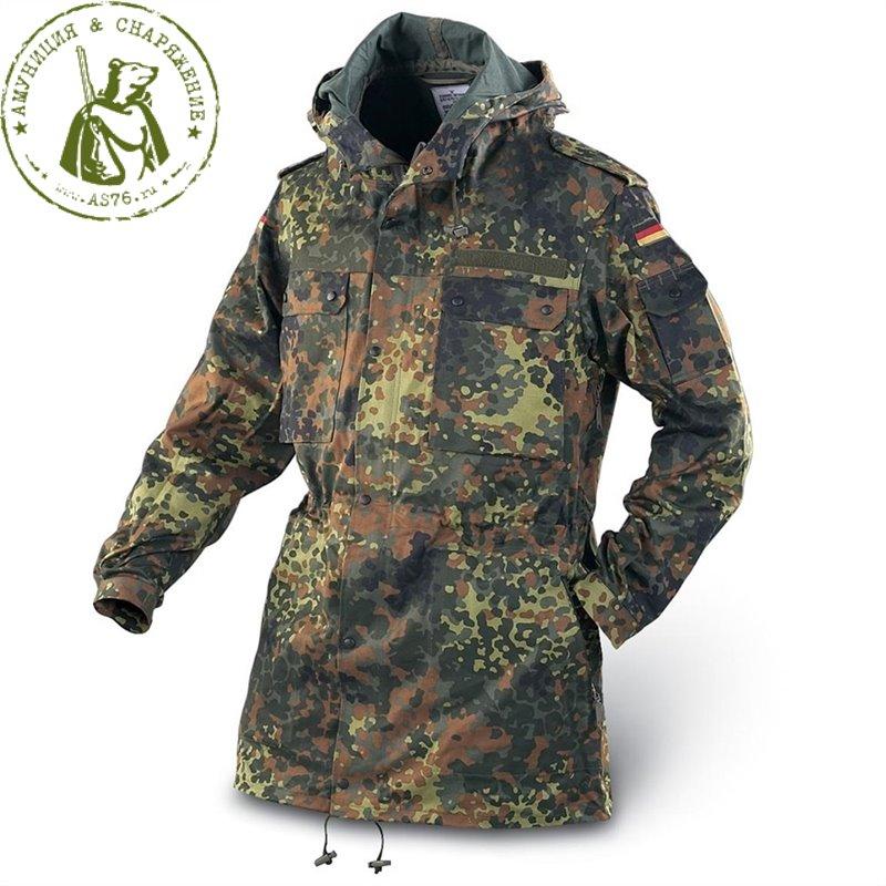 Куртка-Парка Бундесвер Flecktarn б/у