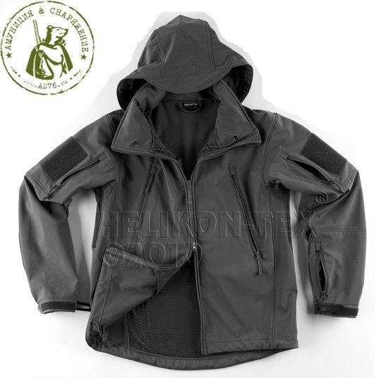 Куртка тактическая Gunfighter black