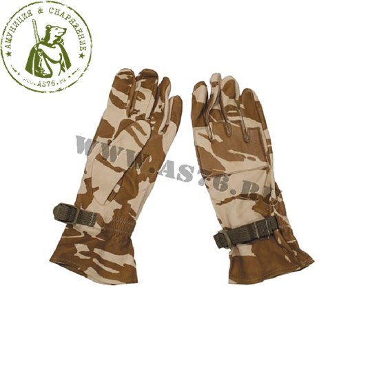 Перчатки армейские Англия DPM Desert