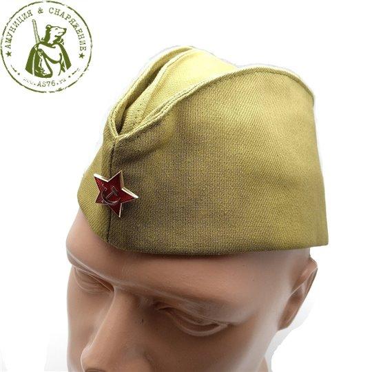 Пилотка солдатская СССР со звездой