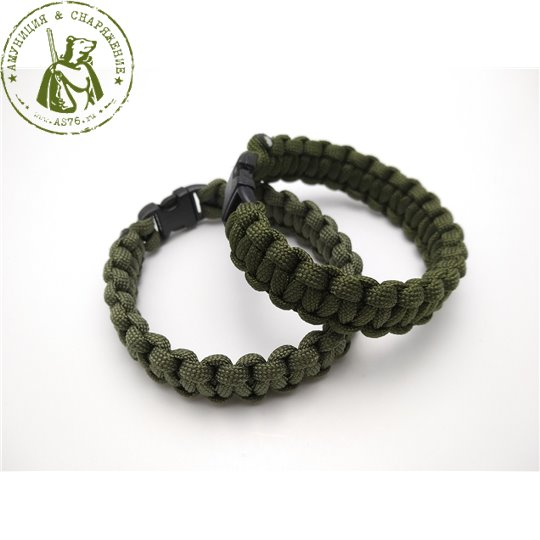 Браслет Paracord Olive as76