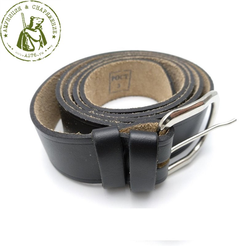 Ремень уставной брючный кожаный