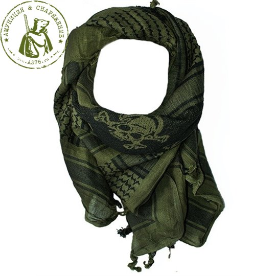 Арафатка Tactical Shemagh OD/Black Dagger