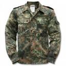 Куртка полевая Bundeswehr, flecktarn, б.у., orig