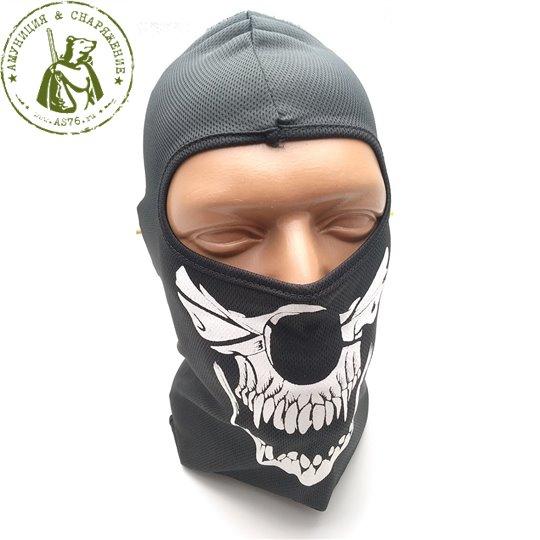 Балаклава Skull Ghost Black