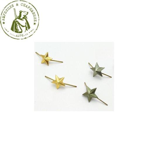 Звезда на погоны 13 мм