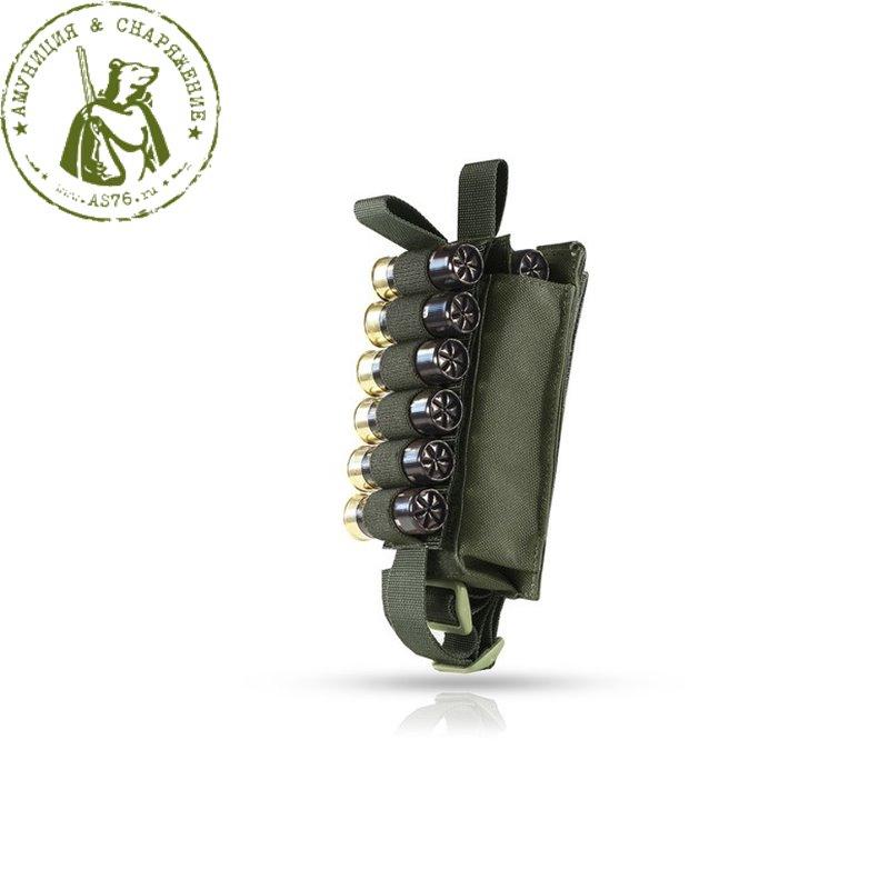 Подсумок Вектор 12 калибра вытяжной липучка -  МР-115- OD