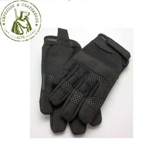 Перчатки EDGE Tactical Летние Black
