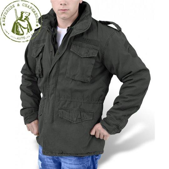 Куртка Surplus М65 Rejiment Jack Black 202501.63