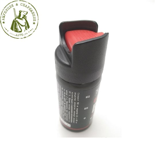 Баллончик самообороны газовый Black