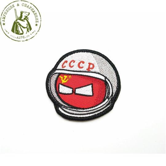 Шеврон Колобок космонавт