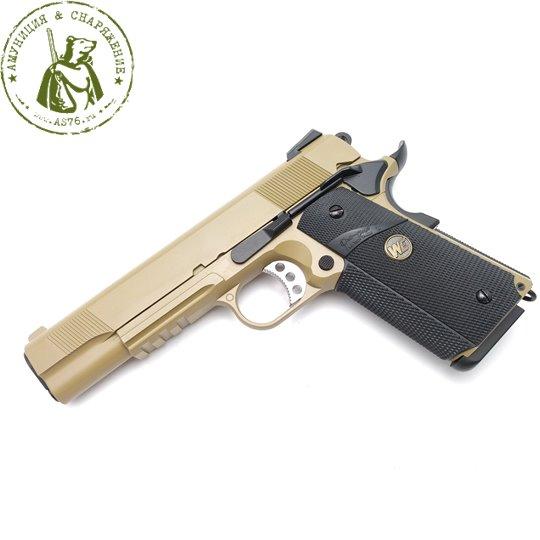 Пистолет WE Colt M1911A1 Tan