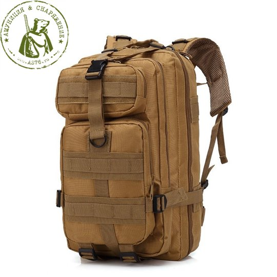 Рюкзак 30L US Army 3P Military Combat Tan