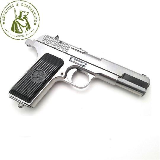 Пистолет WE TT хром WE-E012-TT33-SW