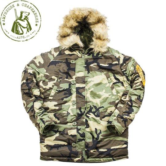 Куртка Nord Storm N3B Husky Denali Camo/Olive