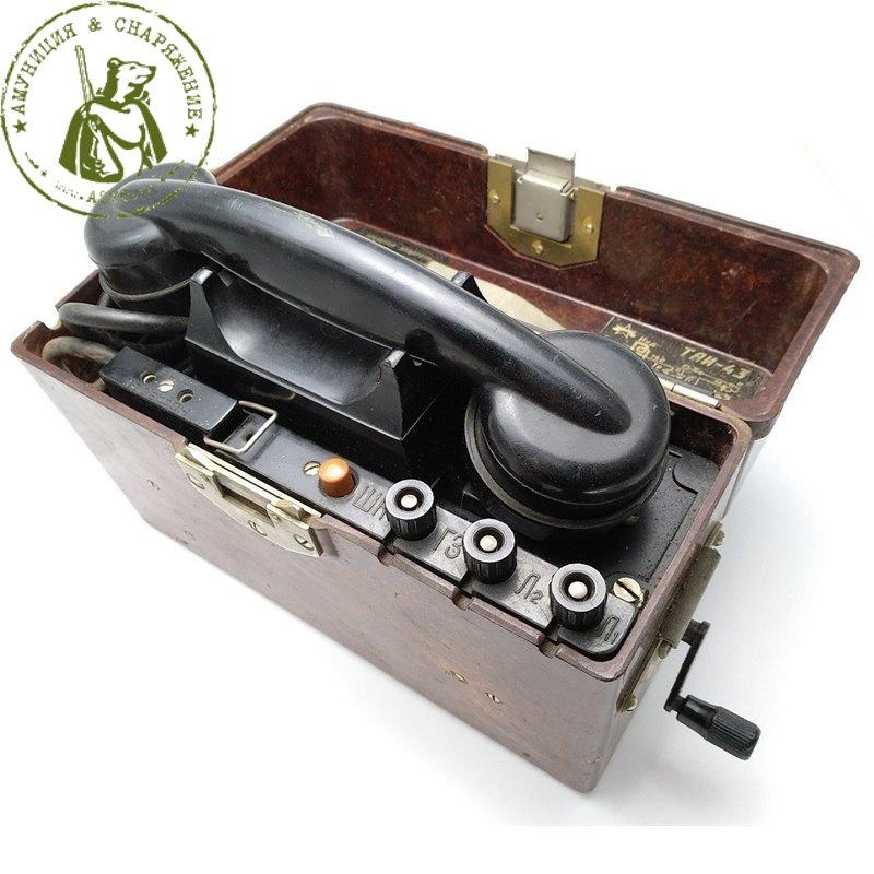 Телефон военно-полевой ТАИ-43