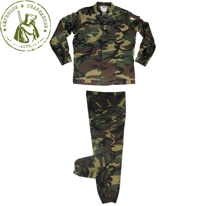 Костюм Италия армейский Woodland