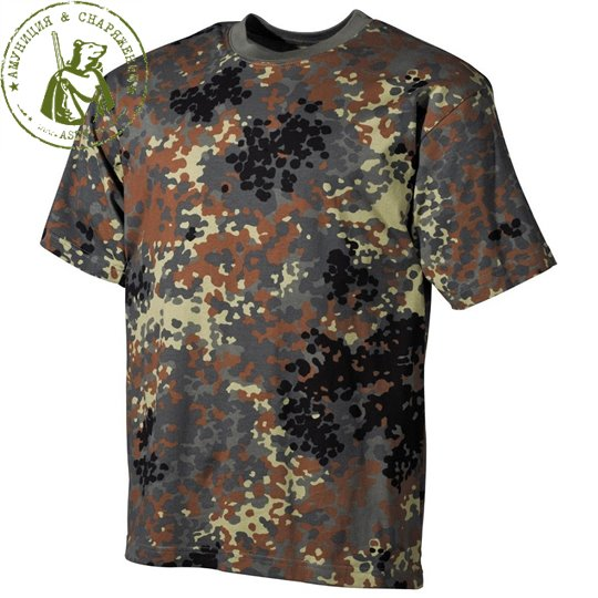 Футболка MF Flecktarn 170 g/m²
