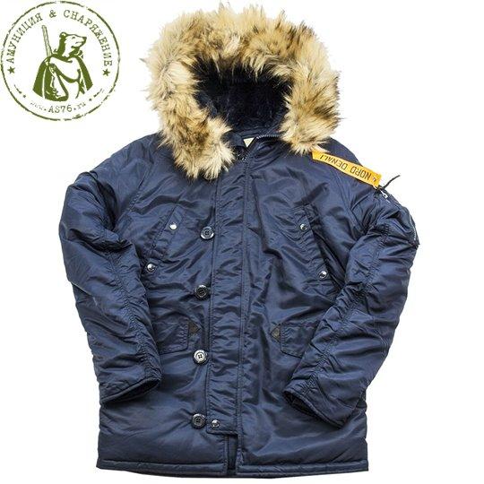 Куртка Аляска Nord Storm Husky Denali rep.Blue/Blue