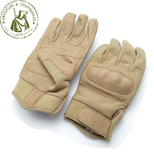 Перчатки EDGE Tactical Field бежевые