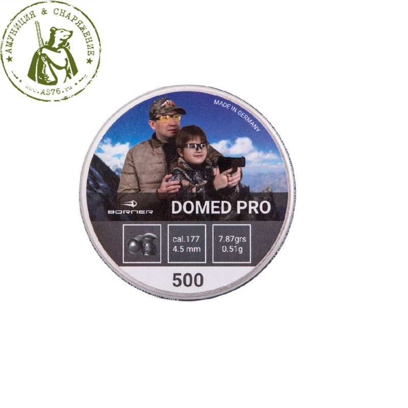 Пули Borner Domed Pro 0