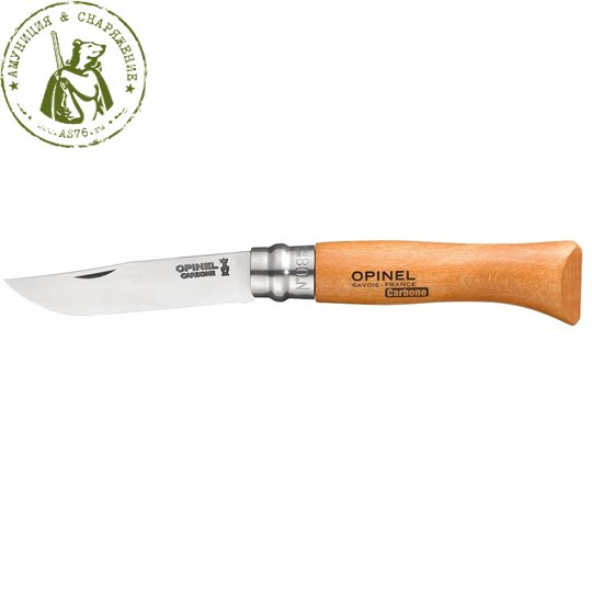 Нож Opinel 8 VRN Carbone
