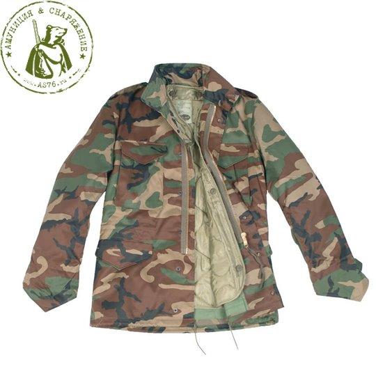 Куртка MT М-65 US с подстегом Woodland