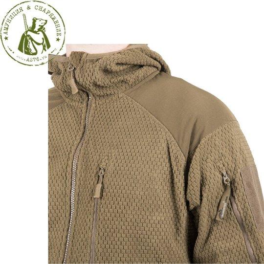 Куртка Helikon Alpha Hoodie Tactical Grid fleese Olive