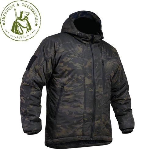 Куртка Барс Циклон зимняя Multicam Black
