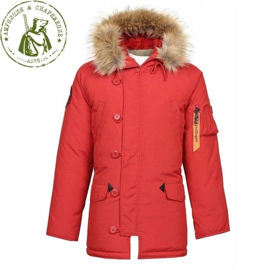 Куртка Apolloget N3B Аляска Oxford Simply/Red