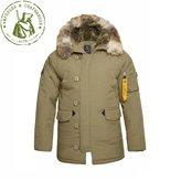 Куртка Apolloget N3B Аляска Oxford Gotnic Olive/Olive