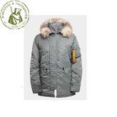 Куртка Apolloget N3B Аляска Husky 19 Olive/Orange
