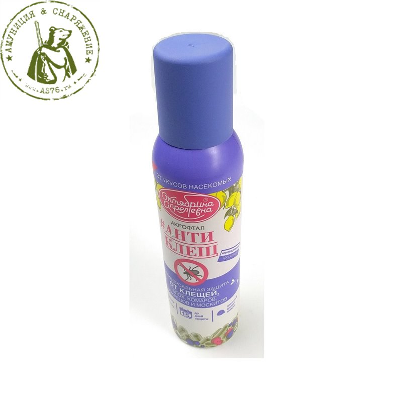 Средство Акрофтал для защиты от клещей 150ml