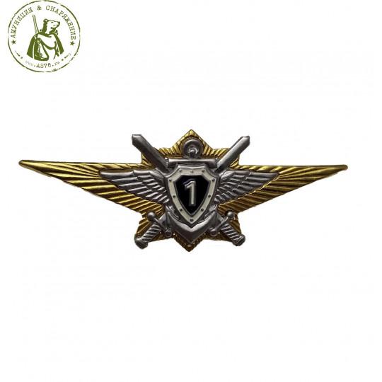 Значок классность офицерская 1 класс