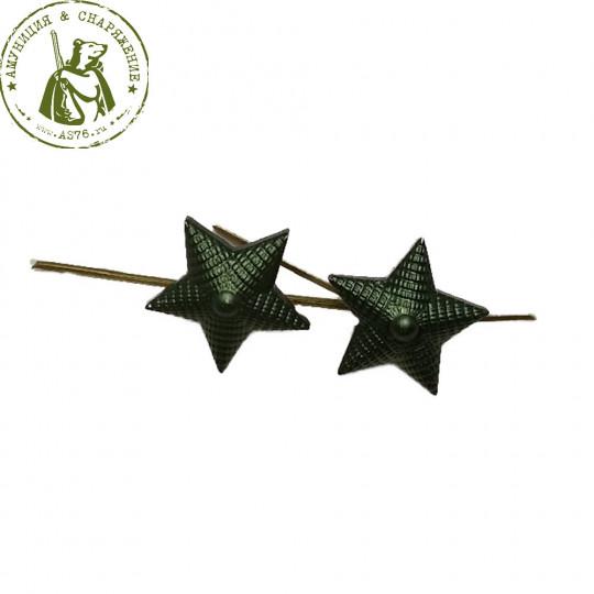 Звезда на погоны зелёная .