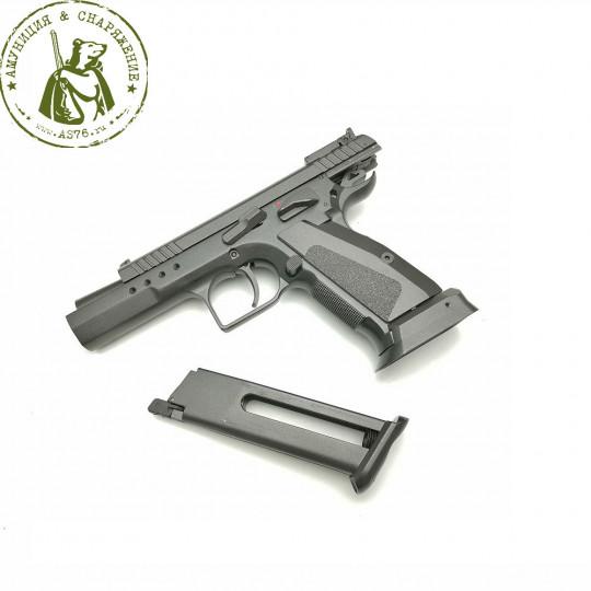 Пистолет KWC CZ 75 TS страйкбольный