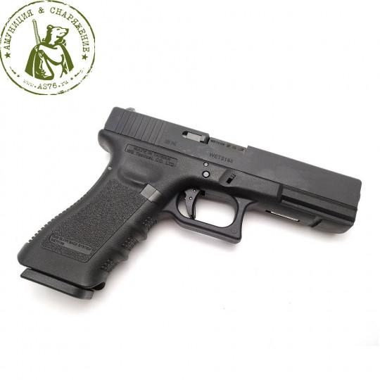 Пистолет для страйкбола Glock-17 gen3 WE