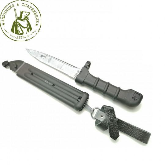 Штык-нож сувенирный НС-АК5 черный ММГ