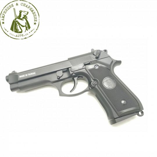 Пистолет страйкбольный KJW Beretta M9 GBB GAS