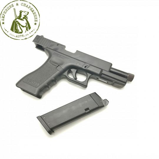 Пистолет страйкбольный KJW Glock G17 GBB KP-17