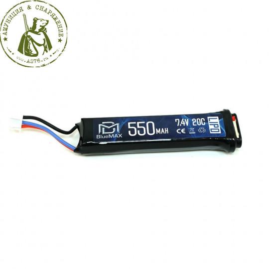АКБ BlueMAX 7.4V Lipo 550mAh AEP