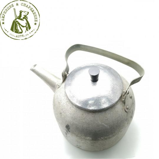Чайник литой армейский костровой 5л