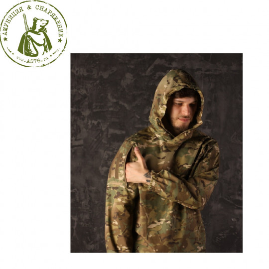 Анорак Sturmer всесезонный  ACA All Weather Combat Anorak, Multicam