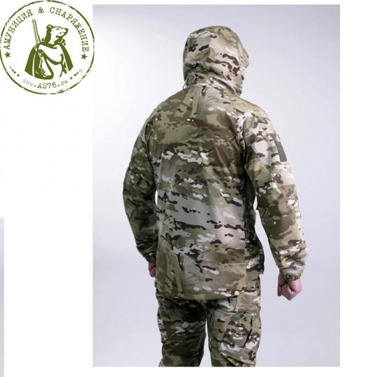 Костюм тактический Soft Shell Барс Туман-L5 Мох