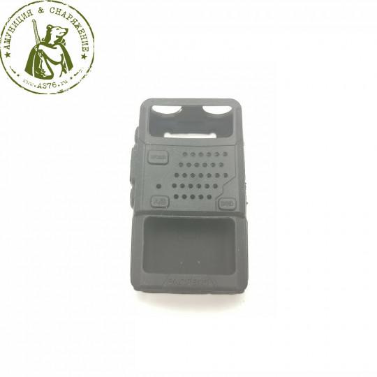 Чехол силиконовый для радиостанций Baofeng UV-5R черный