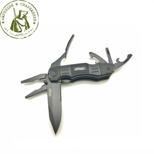 Нож мультиинструмент Walther Multi Tac (насечки)