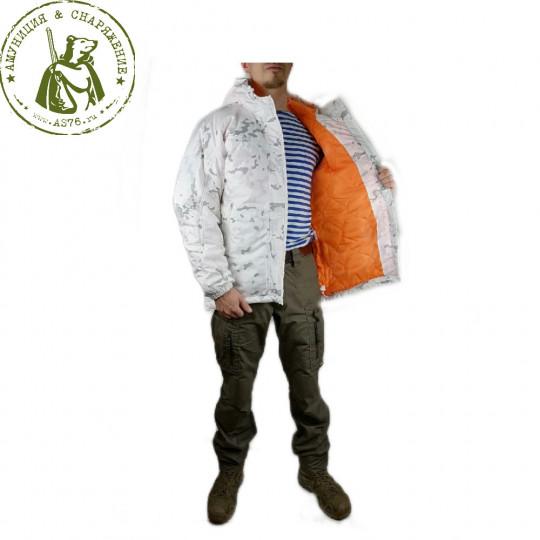 Куртка Барс Циклон зимняя Multicam белый