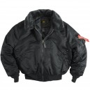 Куртка Alpha Industries B-15 black