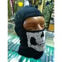 Балаклава Skull открытая Black