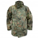 Дождевик куртка мембранная BW Flecktarn